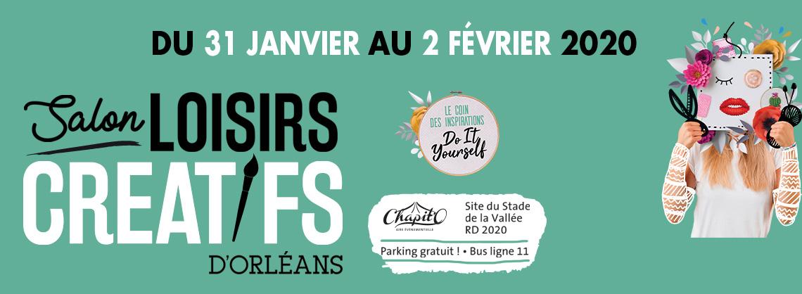 logo salon loisirs créatifs orléans